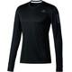 adidas Response - T-shirt manches longues running Homme - noir
